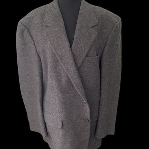 Bill Blass black label camel hair blazer